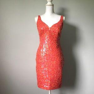 Tadashi Shoji Backless Dress